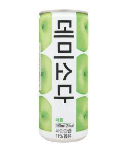 Dongah 데미소다/사과/캔 - Soda táo lon 250ml